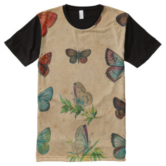 Vintage Butterfies and Moths (10).jpg All-Over-Print T-Shirt