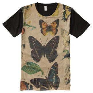 Vintage Butterfies and Moths (2).jpg All-Over-Print T-Shirt