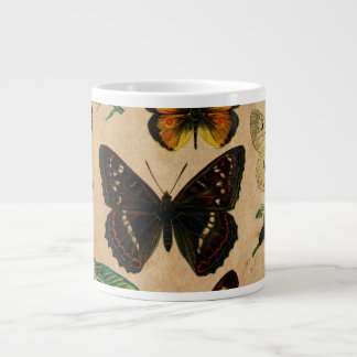 Vintage Butterfies and Moths (2).jpg Large Coffee Mug