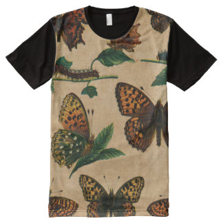 Vintage Butterfies and Moths (4).jpg All-Over-Print T-Shirt