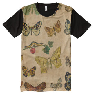 Vintage Butterfies and Moths (6).jpg All-Over-Print T-Shirt