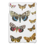 Vintage butterfies book plate print cover for the iPad mini