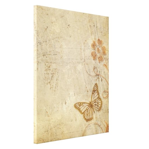 Vintage Butterflies Canvas Prints