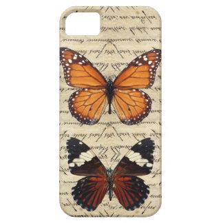 Vintage butterflies collection iPhone SE/5/5s case