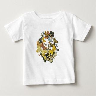 Vintage Butterflies Decoupage Baby T-Shirt