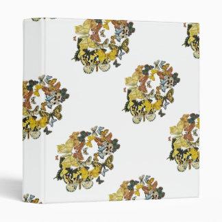 Vintage Butterflies Decoupage Binder