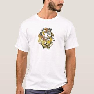 Vintage Butterflies Decoupage T-Shirt