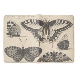 Vintage Butterflies Lepidoptera Field Notes Extra Large Moleskine Notebook