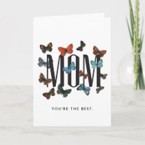 Vintage Butterflies Mother's Day Card