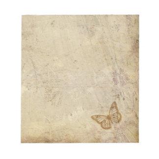 Vintage Butterflies Scratch Pad