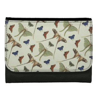 Vintage Butterflies Women's Wallets