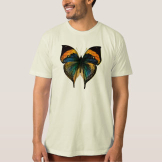 Vintage Butterfly - 1800's Antique Butterfly Litho T-Shirt