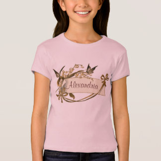 Vintage Butterfly Banner T-Shirt