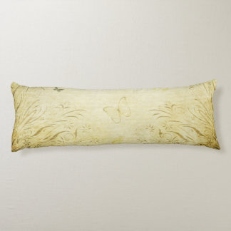 Vintage Butterfly Body Pillow