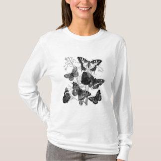 Vintage Butterfly Butterflies Print T-Shirt