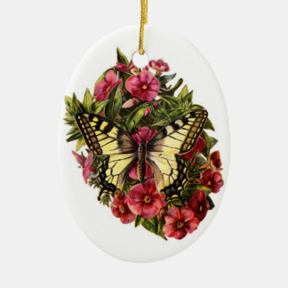 Vintage Butterfly Christmas Tree Ornament