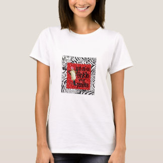 Vintage Butterfly Cowgirl Collage T-Shirt