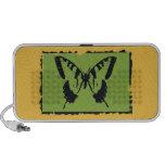 Vintage Butterfly Fine Art 2 Portable Speaker