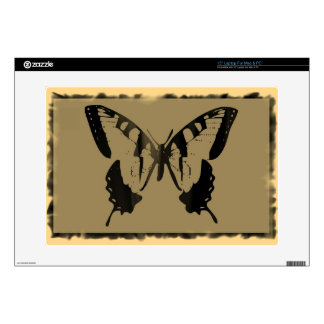 Vintage Butterfly Fine Art Decal For Laptop