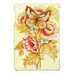 Vintage Butterfly & Flowers Cover For The iPad Mini