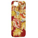 Vintage Butterfly & Flowers iPhone 5 Cover