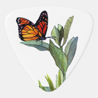 Vintage Butterfly Guitar Pick