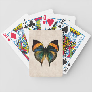 Vintage Butterfly Illustration 1800's Butterflies Bicycle Playing Cards