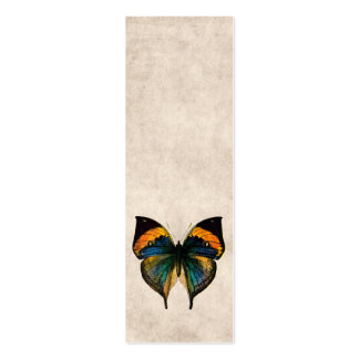 Vintage Butterfly Illustration 1800's Butterflies Business Card