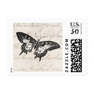 Vintage Butterfly Illustration 1800's Butterflies Postage