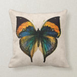 Vintage Butterfly Illustration - Butterflies Throw Pillow