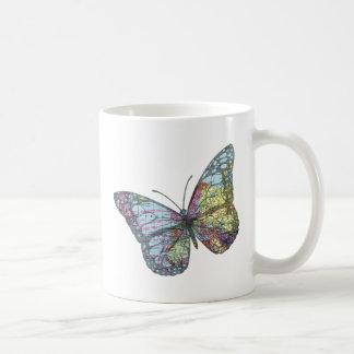 Vintage Butterfly Map Coffee Mug