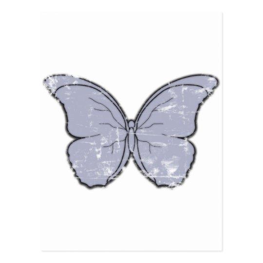 Vintage Butterfly Postcard