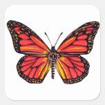 Vintage Butterfly Print Sticker