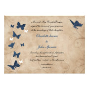 Butterfly wedding invites by mgdezigns