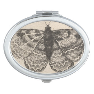 Vintage Butterfly Wings Nature Insect Makeup Mirror