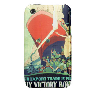 Vintage Buy Victory Bonds Poster 1917 iPhone4 Case