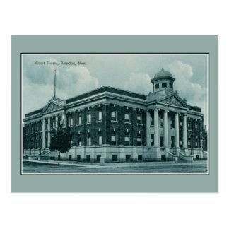 Vintage c 1910 Court House Brandon Manitoba Postcard