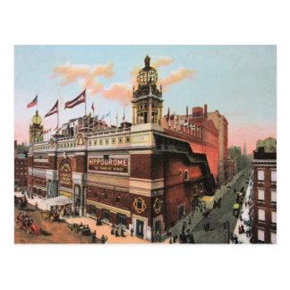 Vintage c. 1910 The Hippodrome, New York City Postcard