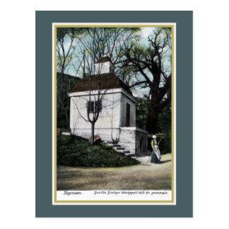 Vintage ca 1900 Skansen Sweden chapel Postcard