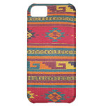 Vintage Cabin Rug Cover For iPhone 5C