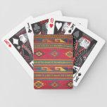 Vintage Cabin Rug Poker Deck