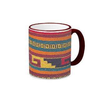 Vintage Cabin Rug Ringer Mug