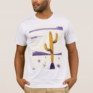 Vintage Cactus in the desert T-Shirt