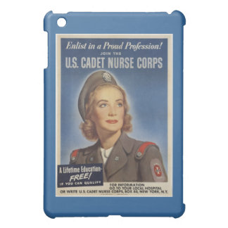Vintage Cadet Nurses iPad Mini Cover