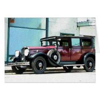 Vintage Cadillac Card