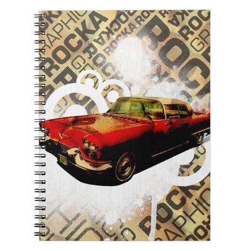 Vintage Cadillac - Libreta