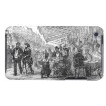 Vintage Cafe Boulevard Montmartre iPod Touch 4G iPod Case-Mate  Cases at Zazzle