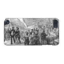 Vintage Cafe Boulevard Montmartre iPod Touch 5G iPod Touch 5G  Case at Zazzle