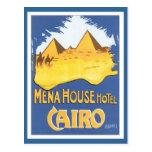 Vintage Cairo Egypt Postcard