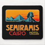 Vintage Cairo Mouse Pad